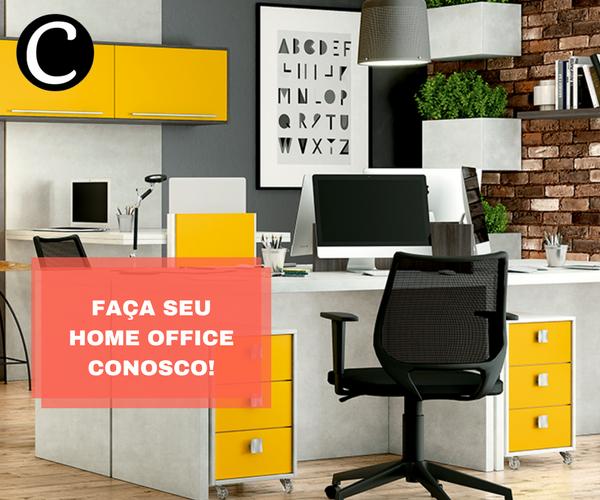 home office casa e cozinha móveis planejados