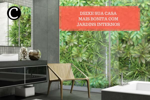 jardins internos casa e cozinha planejados móveis